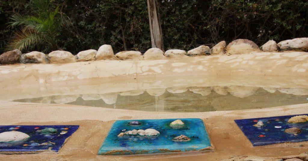 צימבר צימר רומנטי בנגב, גב מים בצימר ים תיכוני