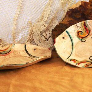 סטודיו בר, קרמיקה בעבודת יד, קערה בצורת דג