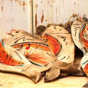 סטודיו בר, דג קרמיקה בעבודת יד מתנה לראש השנה