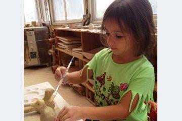 סדנת קרמיקה להורים וילדים – זמן איכות